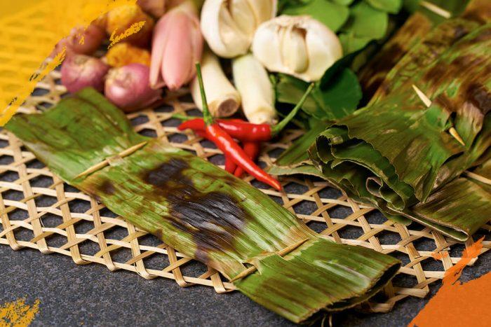 Banana Leaf Otah (Raw)