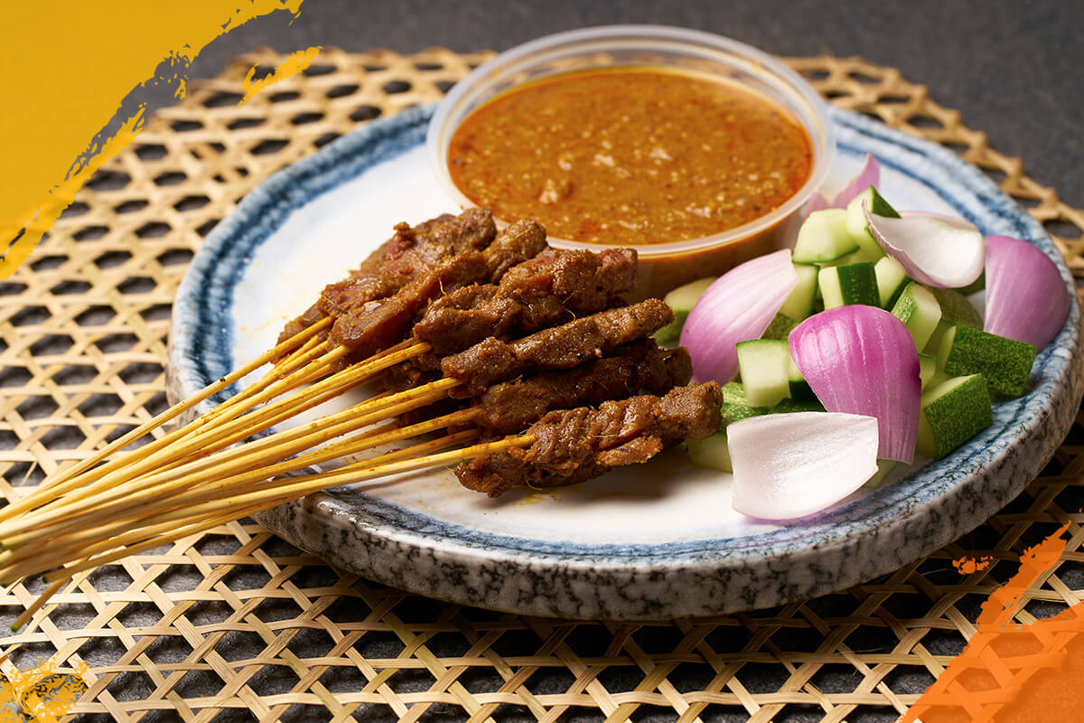 Beef Satay (Cooked)