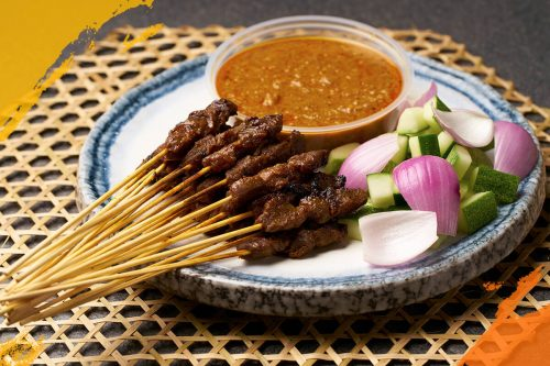 Mutton Satay (Cooked)