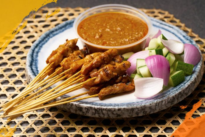 Chicken Satay (Cooked)